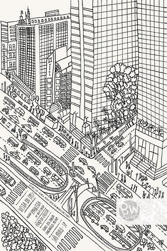 São Paulo - Vista do IMS / Cor 1