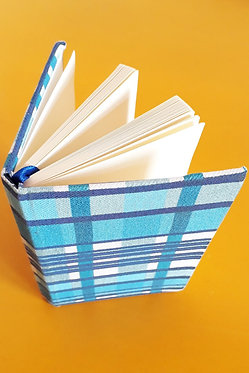 Caderninho - Estampa Xadrez