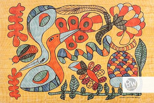 Aborígenes e o amor à natureza / Cor 1