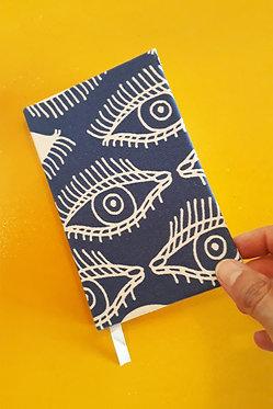 Caderninho - Estampa Déjà Vu Azul