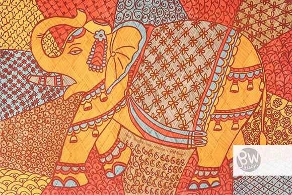 Elefante / Cor 1