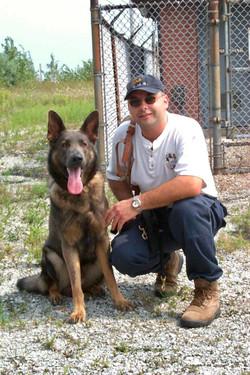 Steve & K9 Radar