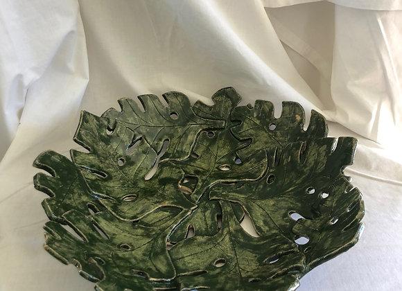 Monstera Leaf Bowl