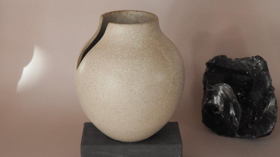 Small Wedge Vase