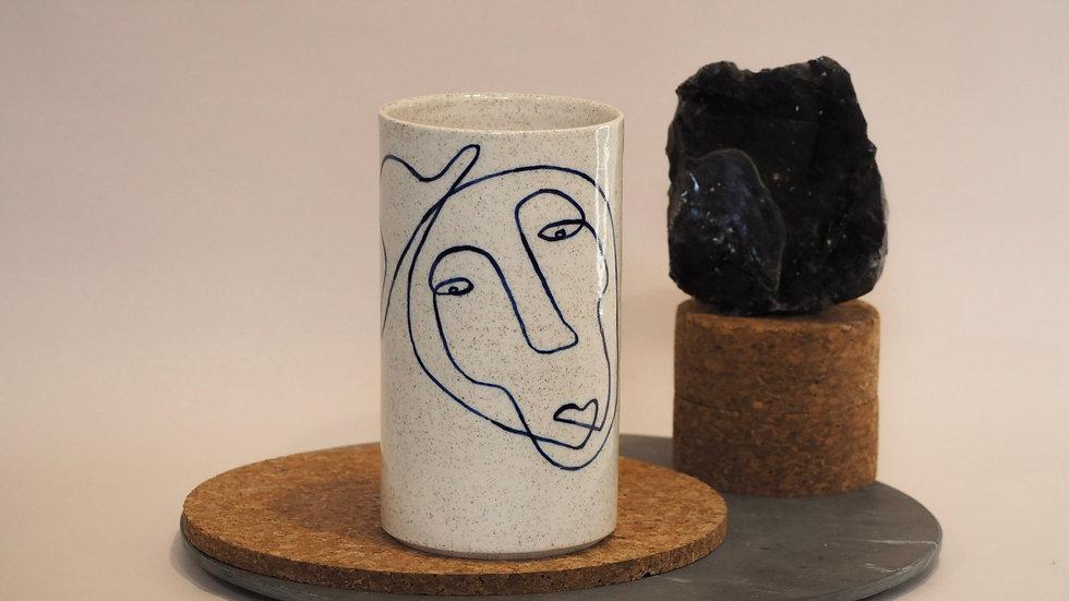Western Lovers Vase