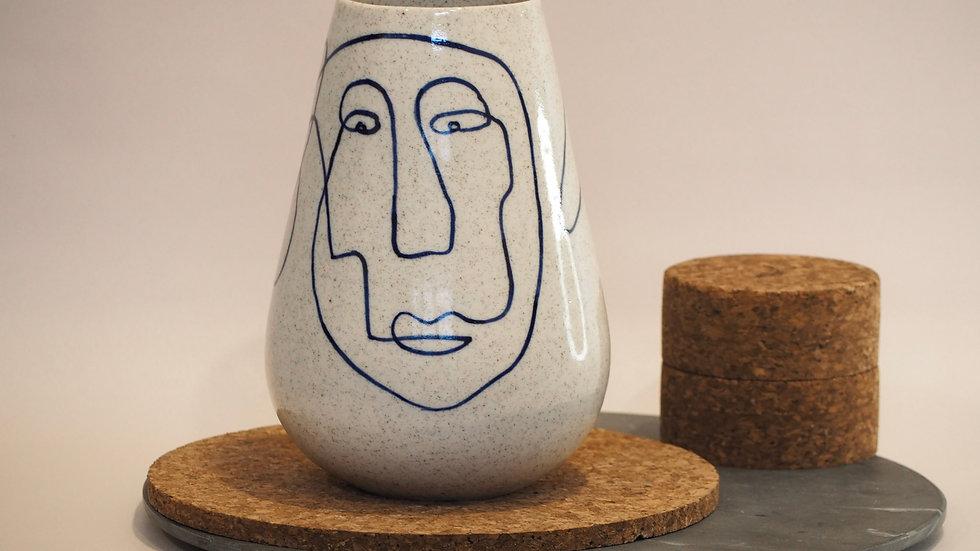 Social Club Large Vase