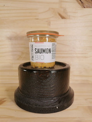 GROIX & NATURE - Rillettes de Saumon BIO