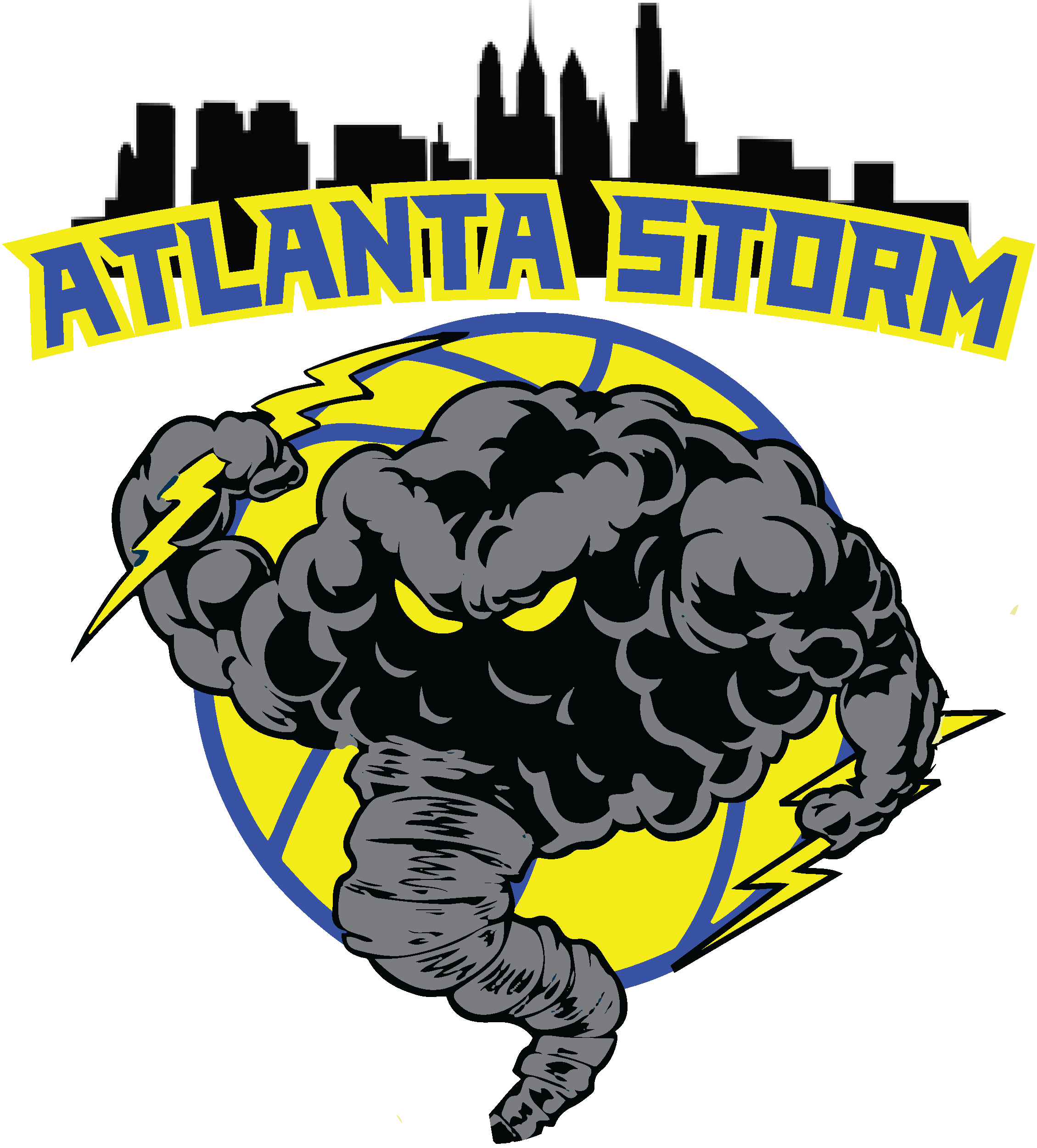 Atlanta Storm Logo Design