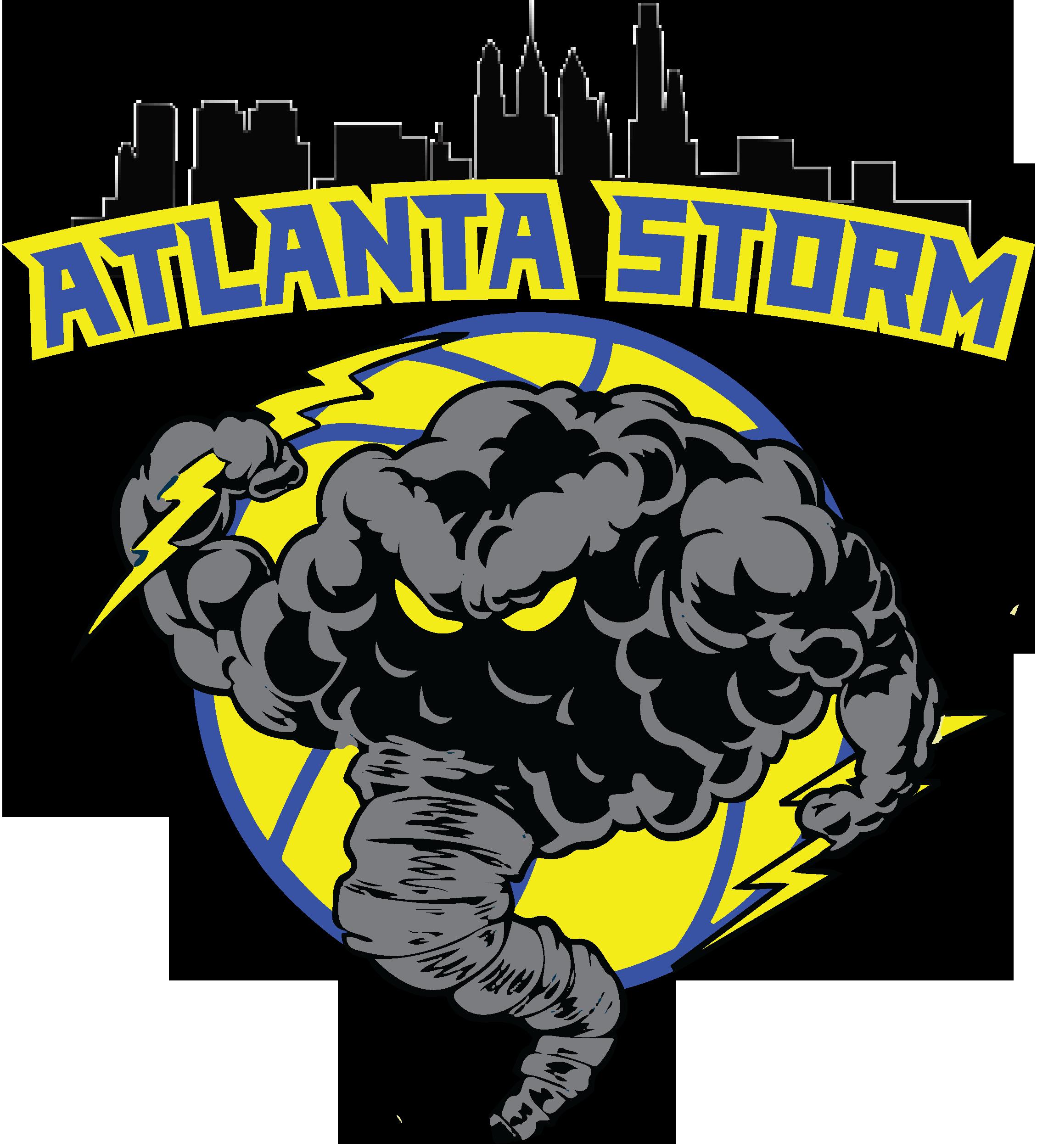 Atlanta Storm Logo Design