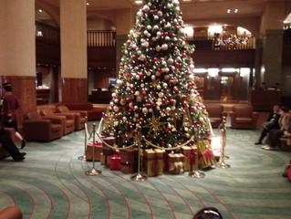 京都ホテルオークラクリスマスツリー