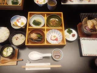 福井県 温泉旅館つるや朝食