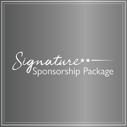 Signature Sponsorship Package