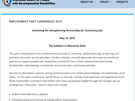 Employment First Conference