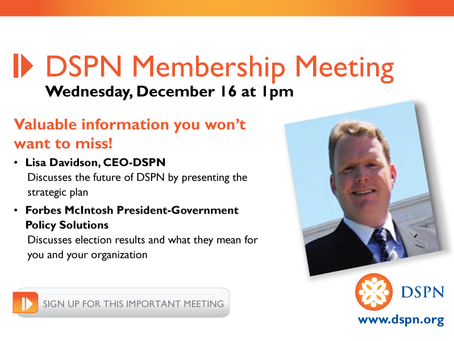 If you are concerned about the future of your organization this meeting is for you