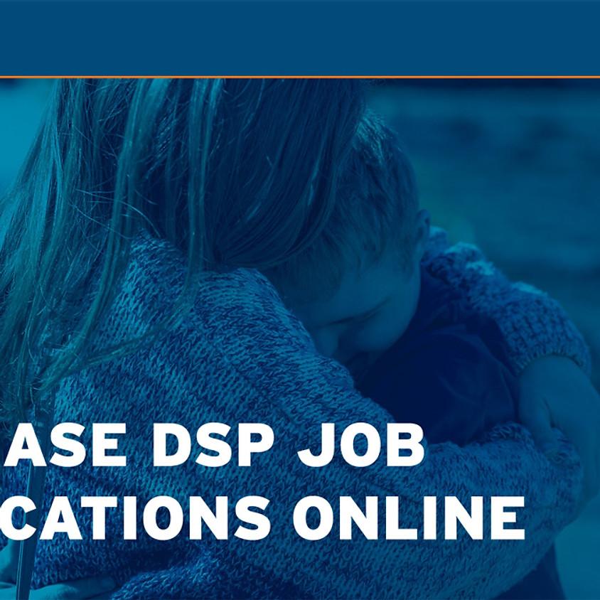 Increase DSP Job Applications Online