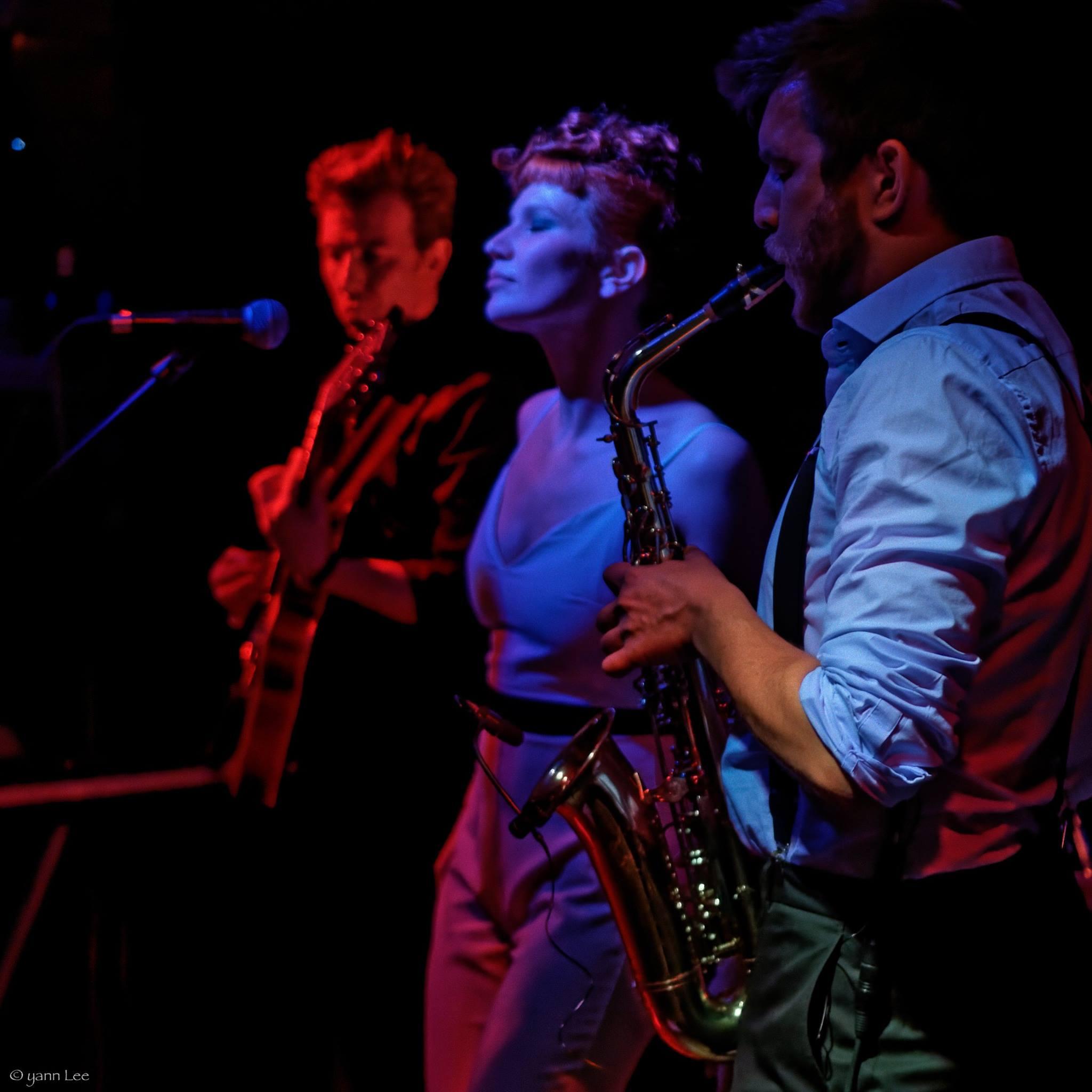 Tom, Alice et Chris à l'Engrenage