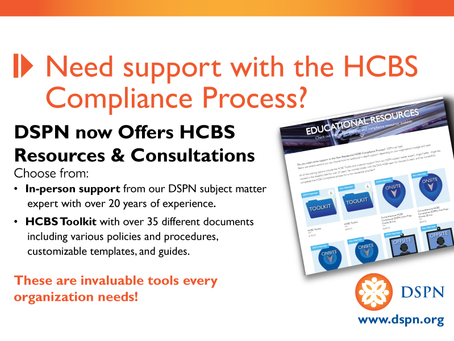 Order Your HCBS Toolkit/Consultation Today!