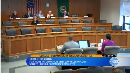 Washington State Considers Eliminating Special Minimum Wage