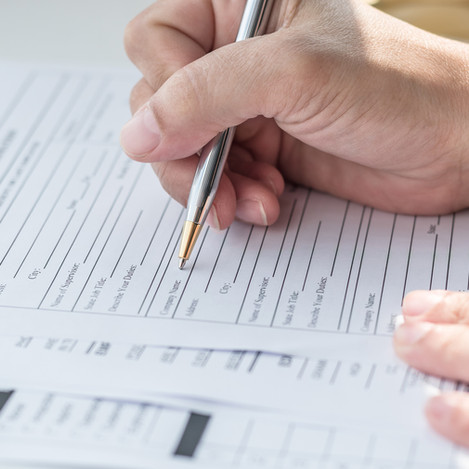 Fingerprinting and Background Check