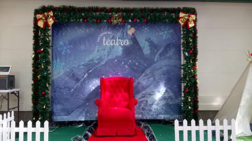 Cenário de Natal com Papai Noel - Jumper Entretenimento