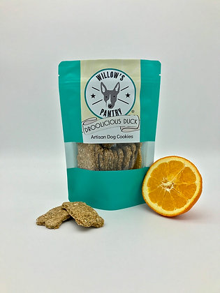 Droolicious Duck - Artisan Dog Cookies 120g