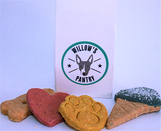 Dog Cookie Party Bag 6x6x9cm