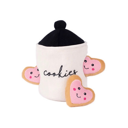 Zippy Paws Cookie Jar - Interactive Puzzle Toy