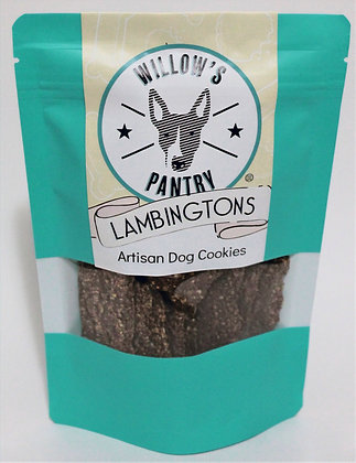 Lambingtons - Artisan Dog Cookies 120g