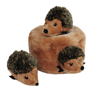 Zippy Paws Hedgehog Burrow Squeaker