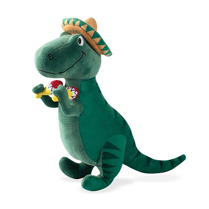 Fringe Studio T-Mex Mexican T-Rex Dinosaur Squeaky Toy