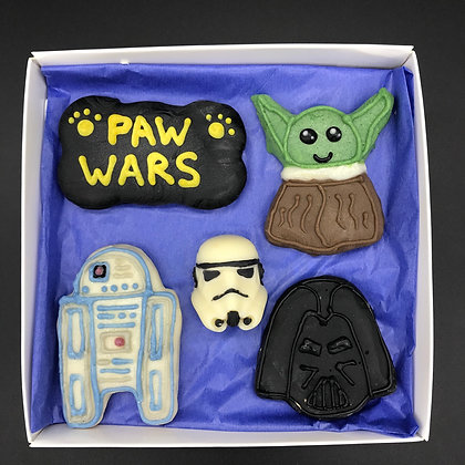 Paw Wars Cookie Box