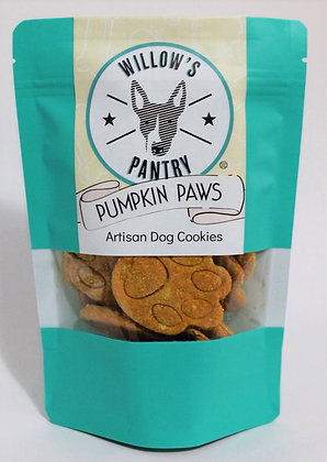 Pumpkin Paws Artisan Dog Cookies 120g