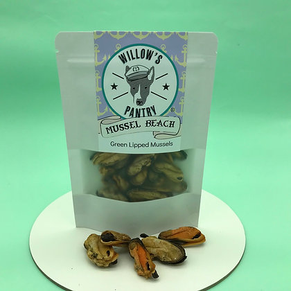 Mussel Beach - NZ Green Lipped Mussels 100g