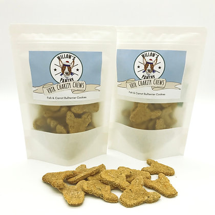 VBTR Charity Chews - Fish & Carrot Bullterriers