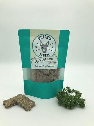Peckish Emu - Artisan Dog Treats 120g