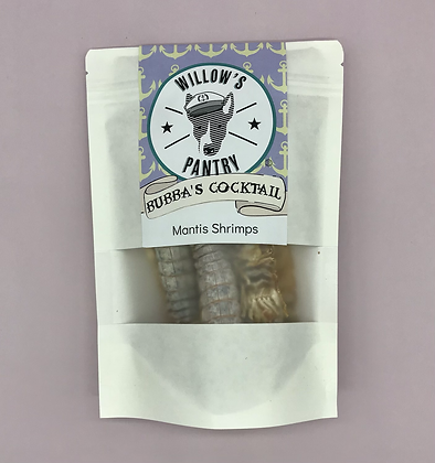 Bubba's Cocktail - Mantis Shrimps dehydrated - 50g