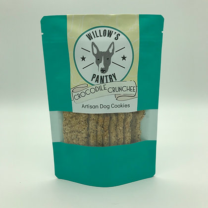 Crocodile Crunchee Dog Cookies 120g