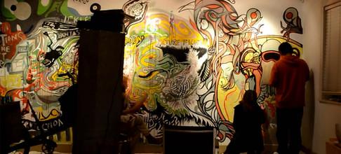 Free Form Mural - Cardoza Art Gallery