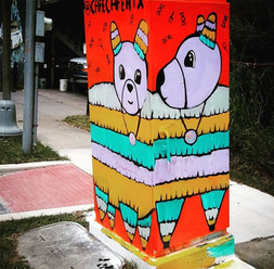 Mini Murals, Houston, TX