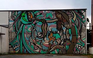 Tree Of Life Mural- GTO, Mexico