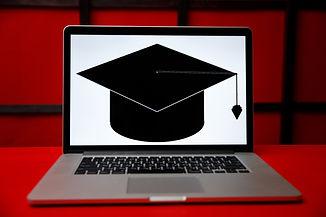 Applicant filling form or planning studi