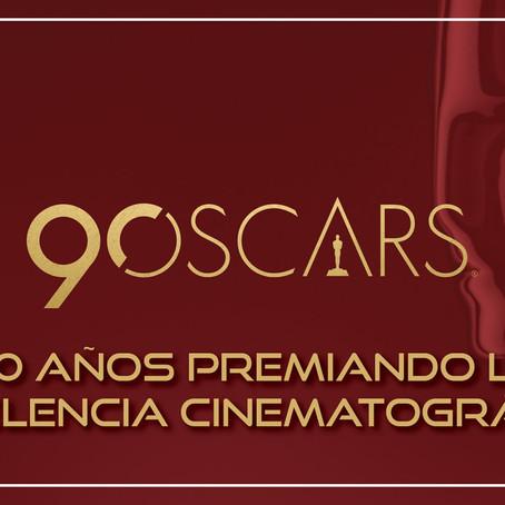 90 años premiando la excelencia cinematográfica