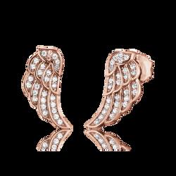 OhrsteckerFluegelrot