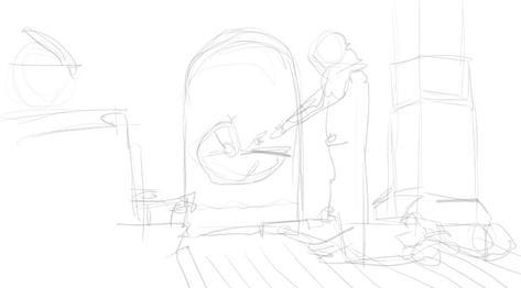 The Mandalorian Sketch 3 of 3