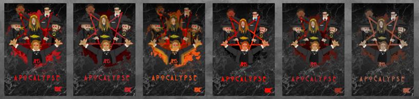 AHS Apocalypse Poster Thumbnails