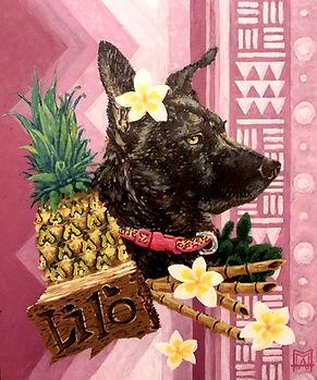 Pet Portrait, Oil Painting, Commissioned Art