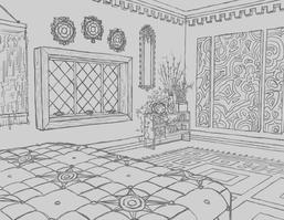 Perspective Drawing Bedroom Drawing