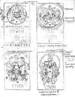 AHS Coven Sketches
