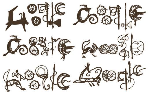 Google Doodle Sketches