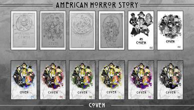 AHS Coven Poster Thumbnails
